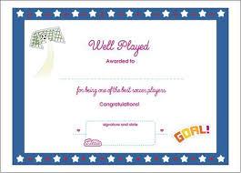 football award certificate template un mission