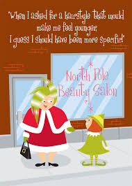 salon themed christmas cards by brookhollow cards