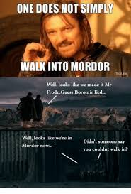 Boromir Memes - 25 best memes about one does not simply meme generator one
