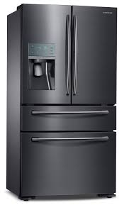 Samsung Cabinet Depth Refrigerator Samsung Black Stainless Steel Counter Depth French Door
