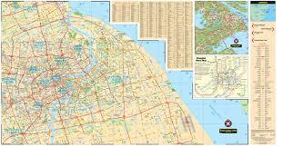 Shanghai Map Shanghai Travel Map Fifth Edition Periplus Travel Maps Periplus