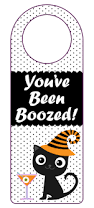 halloween gift tags you u0027ve been boozed