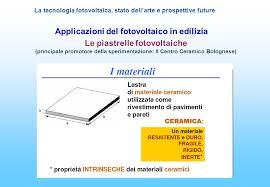 piastrelle fotovoltaiche la tecnologia fotovoltaica stato dell arte e prospettive future