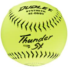 amazon com dudley nsa thunder sy hycon 0 52 slowpitch synthetic