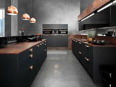 Industrial Kitchen Cabinets Industrial Chic Kitchen With Black Cabinets And White Shelves With