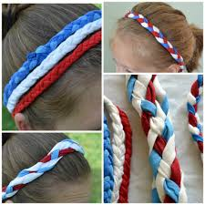 4th of july headband patriotic headbands from a t shirt bless this mess