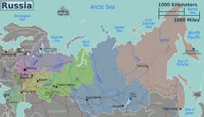 russia map border countries russia wikitravel