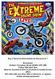 monster truck stunt show extreme stunt show bovingdon bulletin board