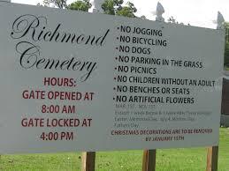 Cemetery Christmas Decorations A Grave Interest Cemeteries Worth The Visit U2013 Richmond Cemetery