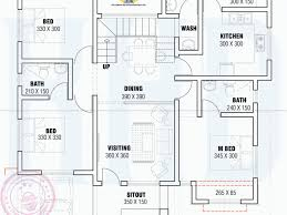 blueprint for house design ideas 52 small single floor house with plan indian