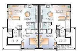 multi family plan w3064 detail from drummondhouseplans com