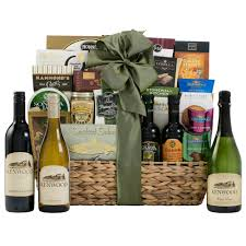 gift baskets with wine bountiful vineyard wine gift basket wine