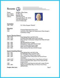 Soccer Resume Example by Some Samples Of Crna Resume Here Are Useful For You Who Want To