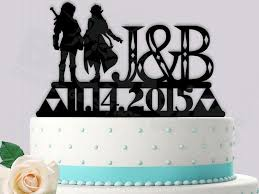 gamer cake topper link and gamer cake topper legend of wedding 2450346