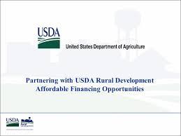 usda rual development partnering with usda rural development affordable financing