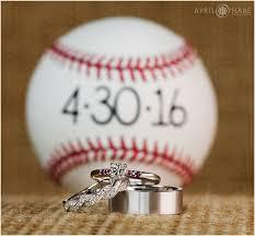 Baseball Wedding Ring by Snowy Spring Baseball Themed Wedding Red Rocks Trading Post In