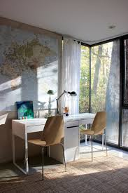Ikea World Map Canvas by House Tour A Modern House Surrounded By Trees Apartment Therapy