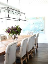 Beachy Chandeliers Over Dining Table Lights U2013 Zagons Co