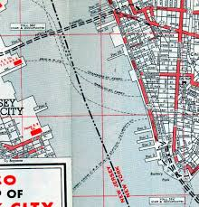 Manhattan Street Map Manhattan Street Map 1960s Ephemeral New York