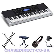 On Stage Keyboard Bench Casio Ctk 4400 Digital Keyboard Includes Double Xx Stand Keyboard