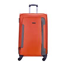 travelex 050 soft case luggage 28 u201d orange lazada ph