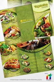 cara membuat brosur makanan keunggulan promosi dengan media brosur dan contohnya