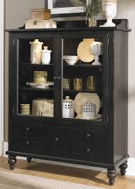 Dining Room Display Cabinet Amazon Com Liberty Furniture Whitney Curio Cabinet In Black