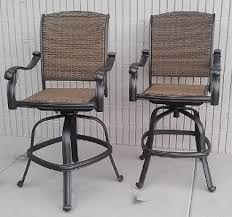 Patio Bar Chair Patio Barstools Closeouts Outdoor Barstools