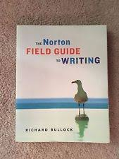 the norton field guide to the norton field guide to writing with readings and handbook ebay