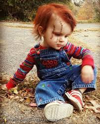 chucky costume diy toddler chucky costume he will kill you with cuteness