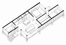 Home Design 40 40 Containers Of Hope A Low Cost Home By Benjamin Garcia Saxe
