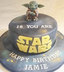 yoda cake topper wars themed birthday cake with yoda cake topper s cake
