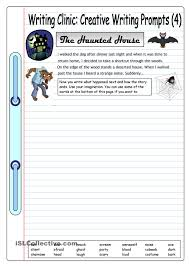 first grade writing paper printable writing clinic creative writing prompts 4 the haunted house writing clinic creative writing prompts 4 the haunted house