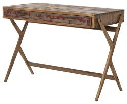 Distressed Office Desk Excellent Mid Century Reclaimed Pine Home Office Desk Desks And