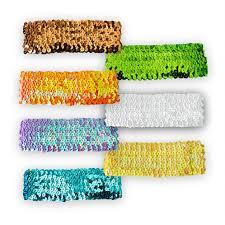 sequin headbands sequin headband shimmer headband miss prim