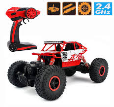 remote control monster truck videos amazon com 2 4ghz 1 18 rc rock crawler vehicle buggy car 4 wd