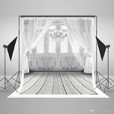 backdrop photography 5x7ft150x220cm white photography background light gray wood floor