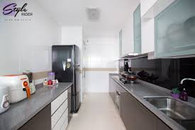 modern kitchen storage ample kitchen storage at yishun