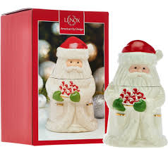 Lenox Christmas Ornaments Qvc by Lenox Porcelain Treat Jars With 24kt Gold Accents Page 1 U2014 Qvc Com