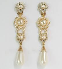 clip on chandelier earrings exquisite chandelier earrings bridal earrings wedding earrings