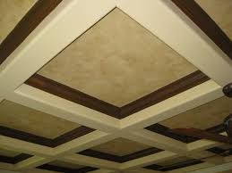 Tray Ceiling Cost Diy Coffered Ceiling Ideas Image Of Cost Loversiq