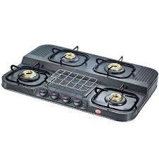 Prestige Cooktop 4 Burner Prestige Cooktop Royale Duplex Series Dgs 04 G Gas Stoves U0026