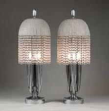 emile jacques ruhlmann pair of lamps 1925 inspiration art