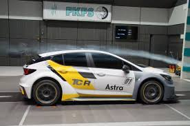 opel volkswagen outstanding aerodynamics best conditions for the opel astra tcr