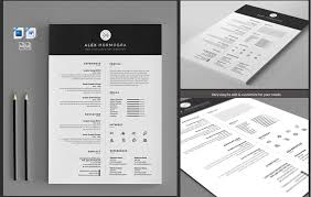 resume modern fonts for logos 50 professional resume cv templates