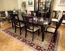 what size rug under dining table rug size for under dining room table dining room rugs size under