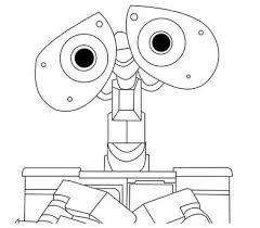 walle coloring pages 35 best wall e birthday 5th images on pinterest wall e birthday