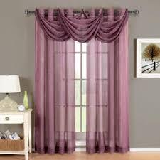 Purple Sheer Curtains Light Purple Sheer Panel