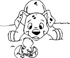 coloriage a imprimer de bouledogue francais