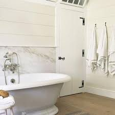 Horizontal Beadboard Bathroom Shiplap Bathroom Walls Design Ideas